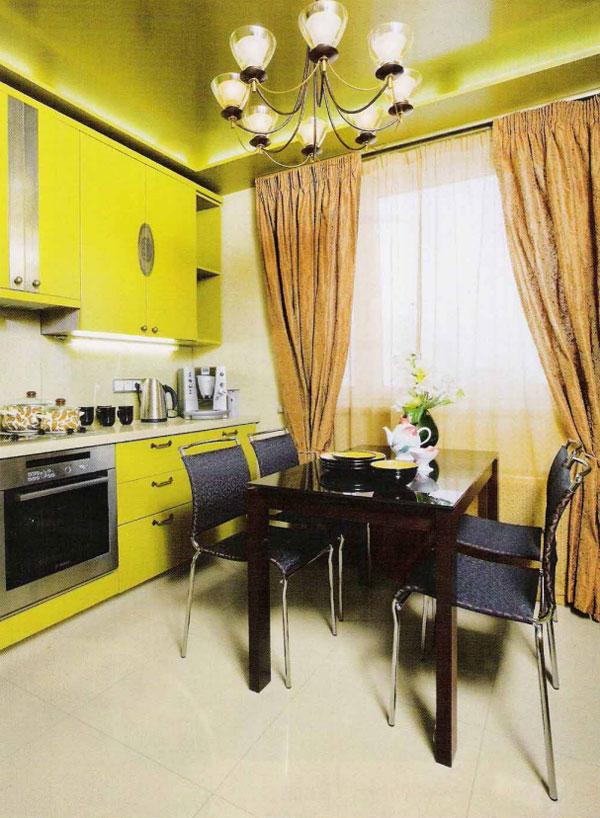 Фото объектов кухни гладкая кухня