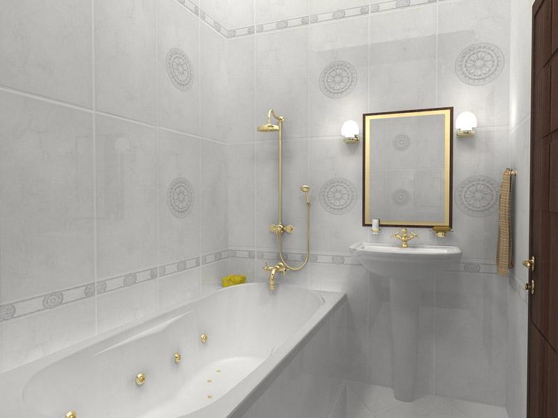Отделка маленькой ванной комнаты дизайн фото